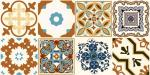 Mixed Mosaic Decorative Flooring Tiles Wide Application High Hardness Durable