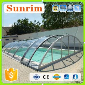 ... Quality Pool Enclosure Remote Automatic Polycarbonate Retractable  Swimming Pool Covers For Sale ...