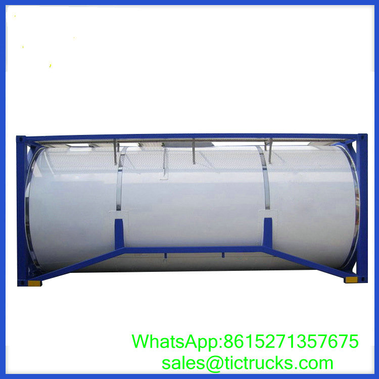 20ft stainless steel Portable iso Tank Container WhatsApp