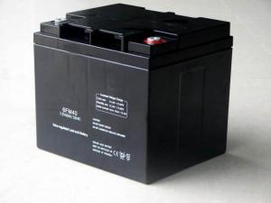 China 12v 40ah High Temperature Battery Rechargeable Sealed Lead Acid Battery For Solar Lighting Equipment on sale