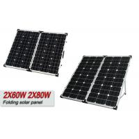 120w Sungold Folding Camping Solar Panels With Monocrystalline Silicon Cells