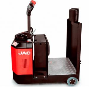 China AC / DC Electric Battery Tow Tractor  Standing Type/JAC Electric Tow Tractor QD30/ JAC auto electric Tow Tractor on sale