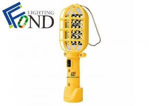 China Portable battery LED handheld light with magnetic , yellow handheld led work lamp on sale