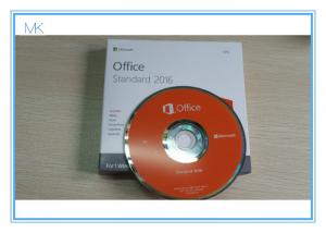 China Microsoft Office 2016 Standard DVD Retail Pack Office 2016 Pro Key Activation Online on sale