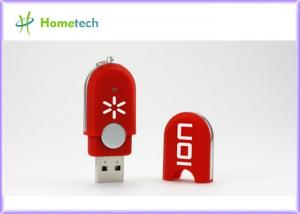 China High Speed Red Plastic USB Flash Drive 4GB 8GB Rectangle For School on sale