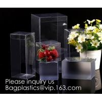 Clear PET box with hanger  Window box clear box PVC box in pillow shape  Alternatives to paper box pvc box Printed PVC b