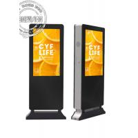 49 Inch Advertising Touch Screen Full HD LCD Outdoor Electronic Signage with Face Recognition Camera