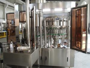 China Automated Co2 Drink Bottling Machine For Sprite / Cola , Soda Filling Machine on sale