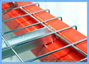 China Hard Drawn Carbon Steel Welded Wire Mesh Decking 2,500 Lb Capacity supplier