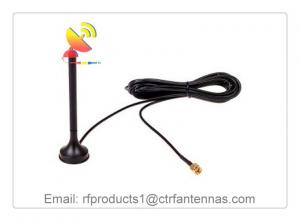 China C&T RF Antennas Car Active/Passive Magnetic Mount GPS Sucker Antenna 1575 MHz with 3M RG174 Cable SMA Male on sale