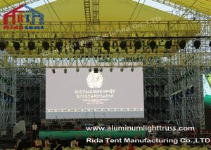 China Outside Concert Stage Light Truss , Spigot Arc Stage Lighting FrameSolid Structure on sale