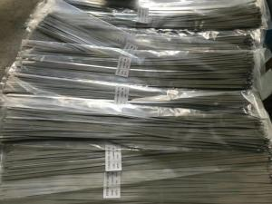 China 300MM Length Metal Steel Ties Zip Strap Ties Stainless Steel Material Rustproof on sale