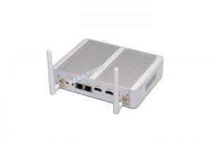 China Braswell Celeron N3150 quad core fanless mini pc dual NIC wifi 3g bluetooth on sale