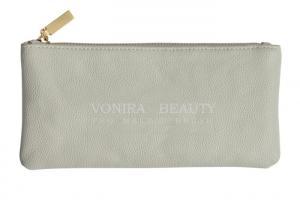 China Women Fashion Leather Makeup Bag Zipper Clutch Coin Purse Handbag Wallet on sale