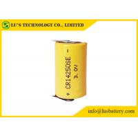 China CR14250 lithium battery size 1/2AA 600 mAh CR14250 3V disposable battery for Flashlight on sale