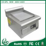 Industrial Commercial induction griddle with 220v