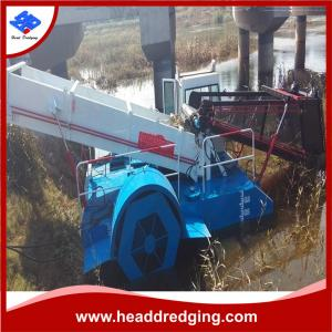 China High Efficiency Aquatic Weed /Reed Harvester Made in China Head Dredging Brand on sale