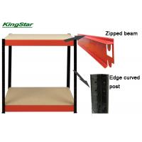 800 Kg Capacity Boltless Workbench With Curved Edge Post And Strengthen Beams