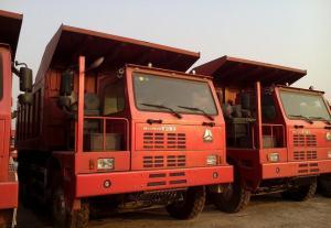 China caminhão basculante grande da mineração da carga veículo da direção da mão esquerda de 371 cavalos-força do sinotruk on sale