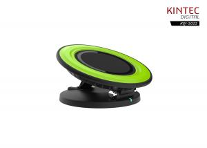 China Inductive Qi Wireless Charger Charging Pad Flat / Tilting Postion 2 IN 1 on sale