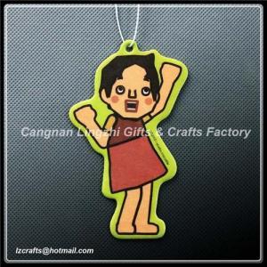 China hot sale ! 2012 customized hanging air freshener on sale