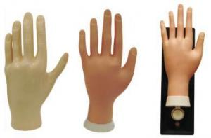 China practise hand,NAIL ART MOVABLE PRACTICE HAND on sale
