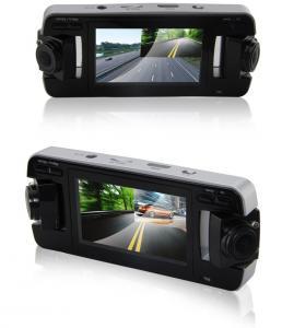 China Vidéo de haute résolution de boucle d'enregistreur de la voiture DVR de Dual Camera avec la vision nocturne d'IR on sale
