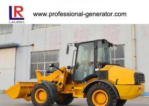Quality 92KW Heavy Construction Machinery , 2800kg Compact Wheel Loader with 1.5m³ for sale