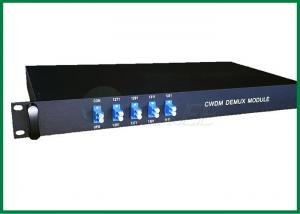 China Low PDL CWDM fiber multiplexer 4 channel with Monitor port 2/98 coupler on sale