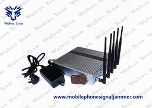 China 3G 4G Wimax Remote Control Jammer Effective Operating For Cell Phones on sale