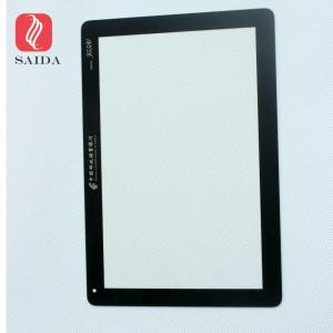 China 1.1mm Front Touch Screen Digitizer Glass,Industrial interface capacitive touch screen glass cover on sale