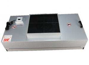 China Clean Room Hepa Filter Unit With Low Noise Motor , Ffu Fan Filter Customized Size on sale