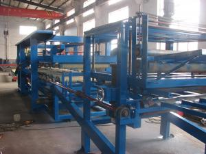 China EPS And Rockwool Roof and Wall Sandwich Panel Roll Forming Machine Production equipment on sale