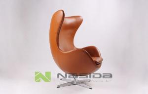 China office Tilt replica egg chair Jacobsen / Swivel Living Room Lounge Chair on sale