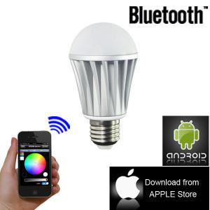 China Home Automation, Dimmable LED Bulbs, Color Changing Bluetooth LED Lights Bulb on sale