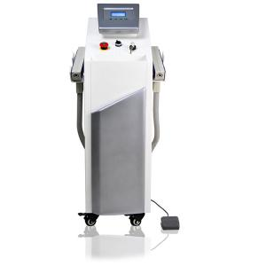 China 532 1064 Nd Yag Q Switched Tattoo Removal Machine Long Pulse Laser Stationary Style on sale