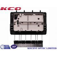 FTTH Drop Cable Fiber Optic Splice Closure For 1x8 Splitter KCO-GJS08 3 inlet 3 outlet