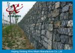 Decorative Gabion Wire Mesh / Gabion Wall Fence For Protecting Dam