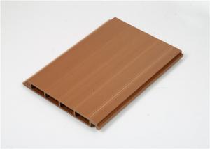 China Low Maintenance Composite Wall Cladding Panels Wood Grain Waterproof on sale