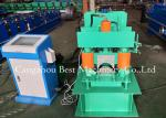 Metal Roof Building Material Ridge Cap Forming Machine 0.3-0.8mm Thickness 2 Years Warranty