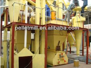 China 4-6t/h poultry feed pellet line on sale