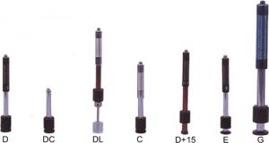 China Impact Device Type C Metal Hardness Tester , Handheld Hardness Tester For Small Thin Work Piece on sale