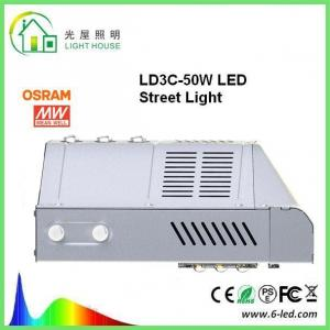 China IP65 Nichia High Power Led Street Light SMD3030 Chip 140 LM / W DLC FCC Certified on sale