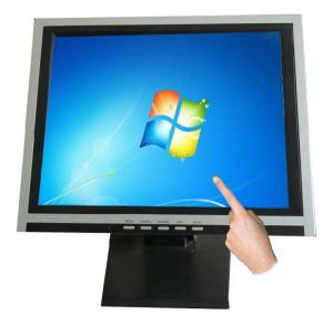 China Touch Screen LCD Monitor 15  Support Windows / Linux System For Restaurant Menu on sale