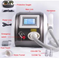 1064nm 532nm 1320nm Laser Pigment Removal / Tattoo Removal Machine Multifunction 1000mj