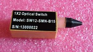 Quality Black Fiber 1X2 Mechanical Optical Switch for Network Switching for sale