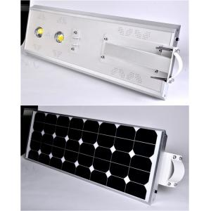 China Smart 6000K Solar LED Street Light 120 Degree Viewing Angle , White Color on sale