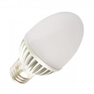China Custom Mood Lighting 240, 250, 270 lm 3w E27 Aluminum Candle E27 LED Light Bulbs on sale