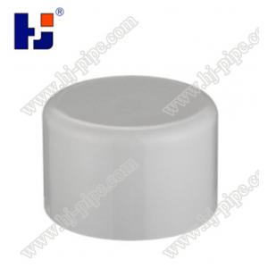 China HJ Cpvc Astm 2846 End Cap For Conduit Pipe Fitting on sale