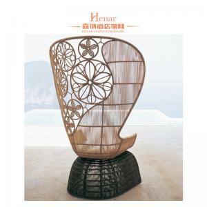 China Fashion Wicker Rattan Hotel Lobby Sofa / Outdoor Patio Garden Furniture on sale